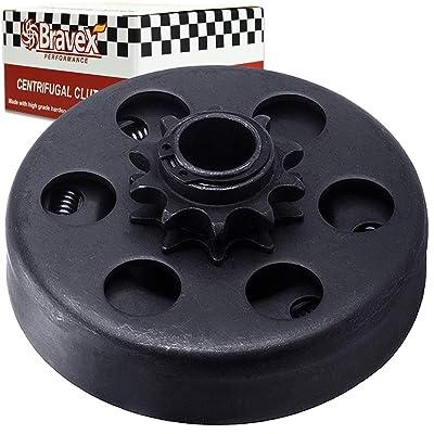 "Motovecor Centrifugal Clutch Go Kart Clutch Predator Engine Clutch Baja Mini Bike 3/4\"" Inch Bore 10 Tooth 10T for #40/41/420 Chain 6.5HP - Upgrade: Automotive [5Bkhe1502918]"