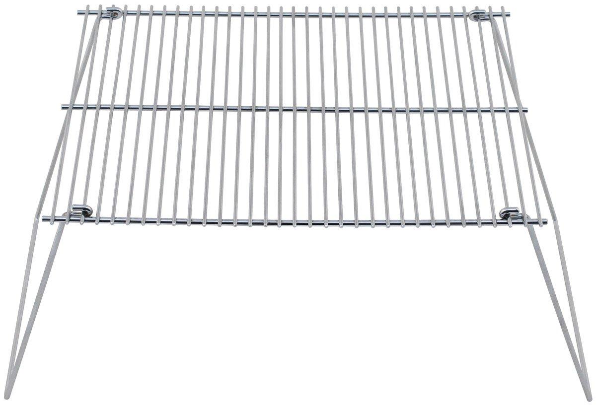 Camping-Küchenbedarf Grillrost Stahl klappbar 38 x 25 cm