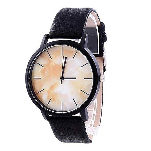 Scpink Relojes de Cuarzo para Mujer, Relojes de Pulsera para Mujer, de marmol y