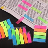 Antner 1500 Pieces Neon Page Markers Sticky Tabs