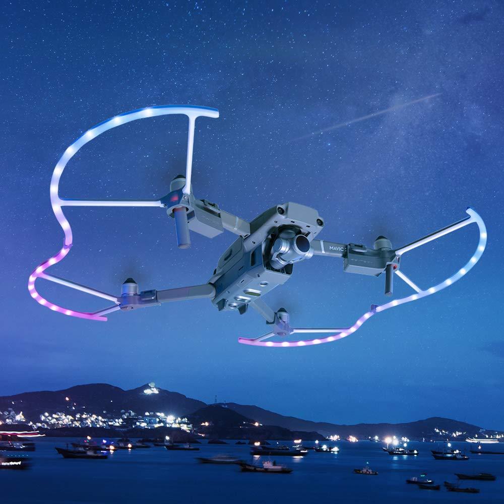 ETbotu UAV プロペラシールド トランスミッションアクセサリー DJI Mavic 2 PGYTECH LED用 B07L2X289K