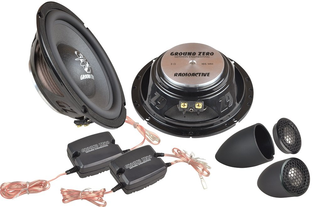 Ground Zero gzrc 165 Neo de IV, 165 mm Sistema montarse, 170 W: Amazon.es: Electrónica