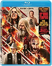 ROB ZOMBIE TRIPLE FEATURE UNRATED BD + DGTL [Blu-ray]