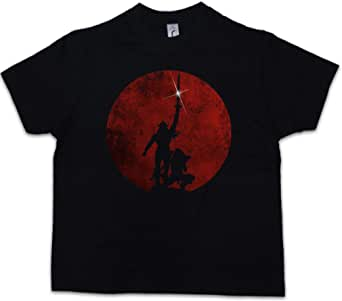 Urban Backwoods Barbarian Niños Chicos Kids T-Shirt Negro Talla