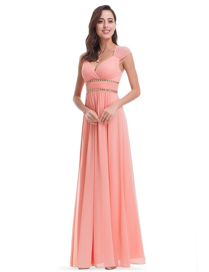 Hermosa Vestido De La Dama De Honor Más Favorecedor Para El Tamaño ...