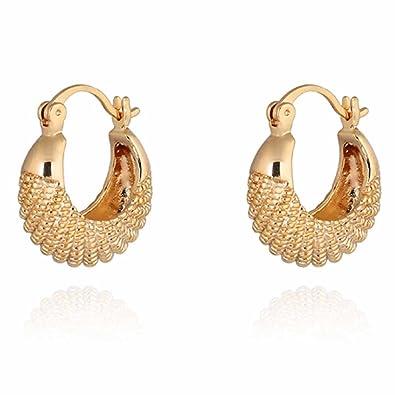 Amazon.com: YAZILIND Charming 14K Gold Filled Simple Design Smal ...