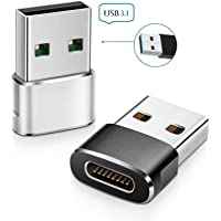 Juqebox ™ USB 3.1 5Gbps Type C Female to USB A Male Adapter(Upgrade Version)