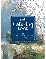 Posh Adult Coloring Book: Thomas Kinkade Designs for Inspiration & Relaxation (Volume 14)