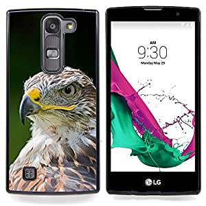 "For LG G4c Curve H522Y ( G4 MINI , NOT FOR LG G4 ) Case , Las plumas de Eagle del halcón pájaro verde de verano"" - Diseño Patrón Teléfono Caso Cubierta Case Bumper Duro Protección Case Cover Funda"