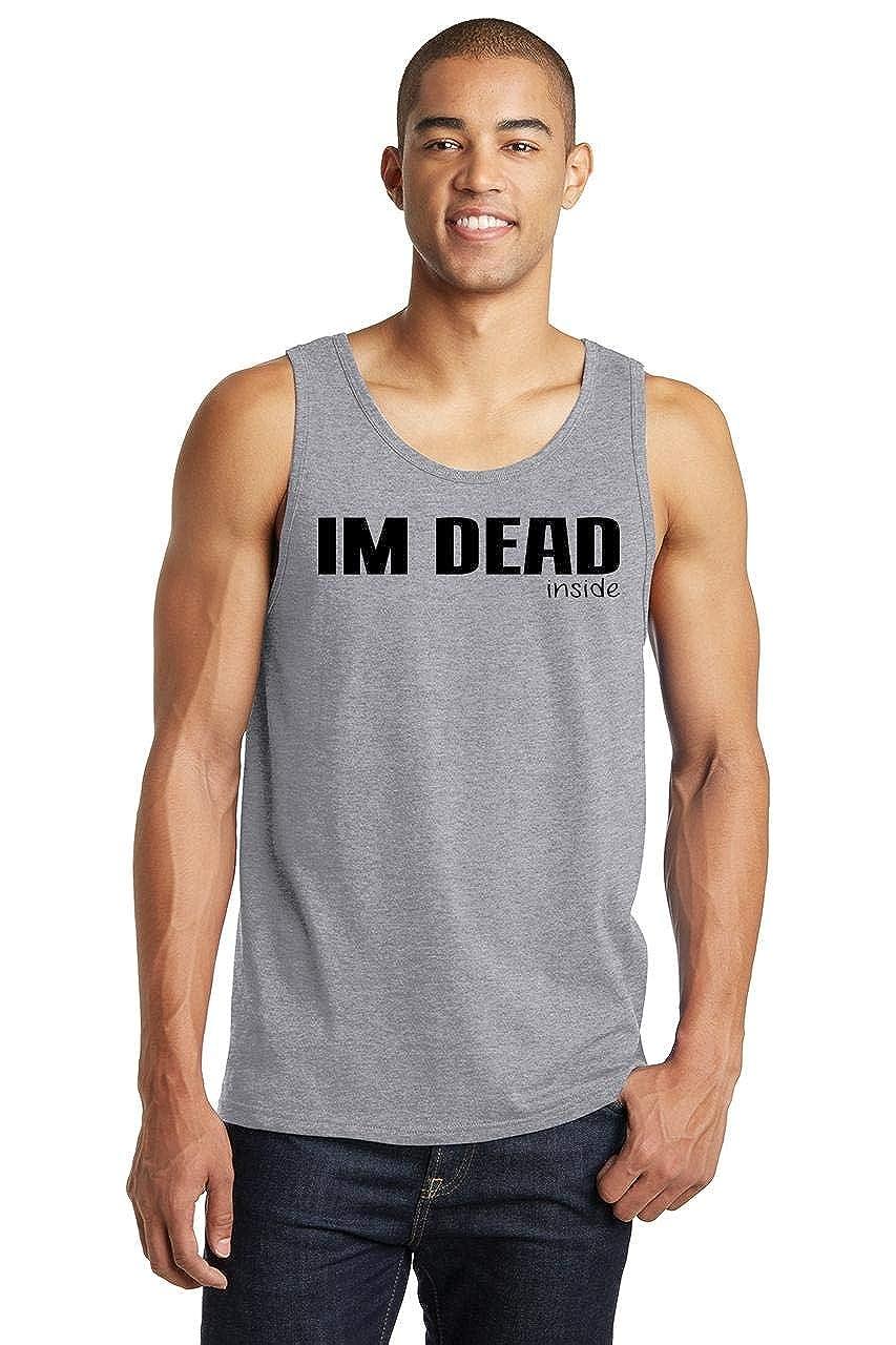 Comical Shirt Mens Im Dead Inside Tank Top