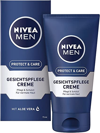 Nivea Men Suave Crema Facial Care original, 1er Pack (1 x 75 ml ...