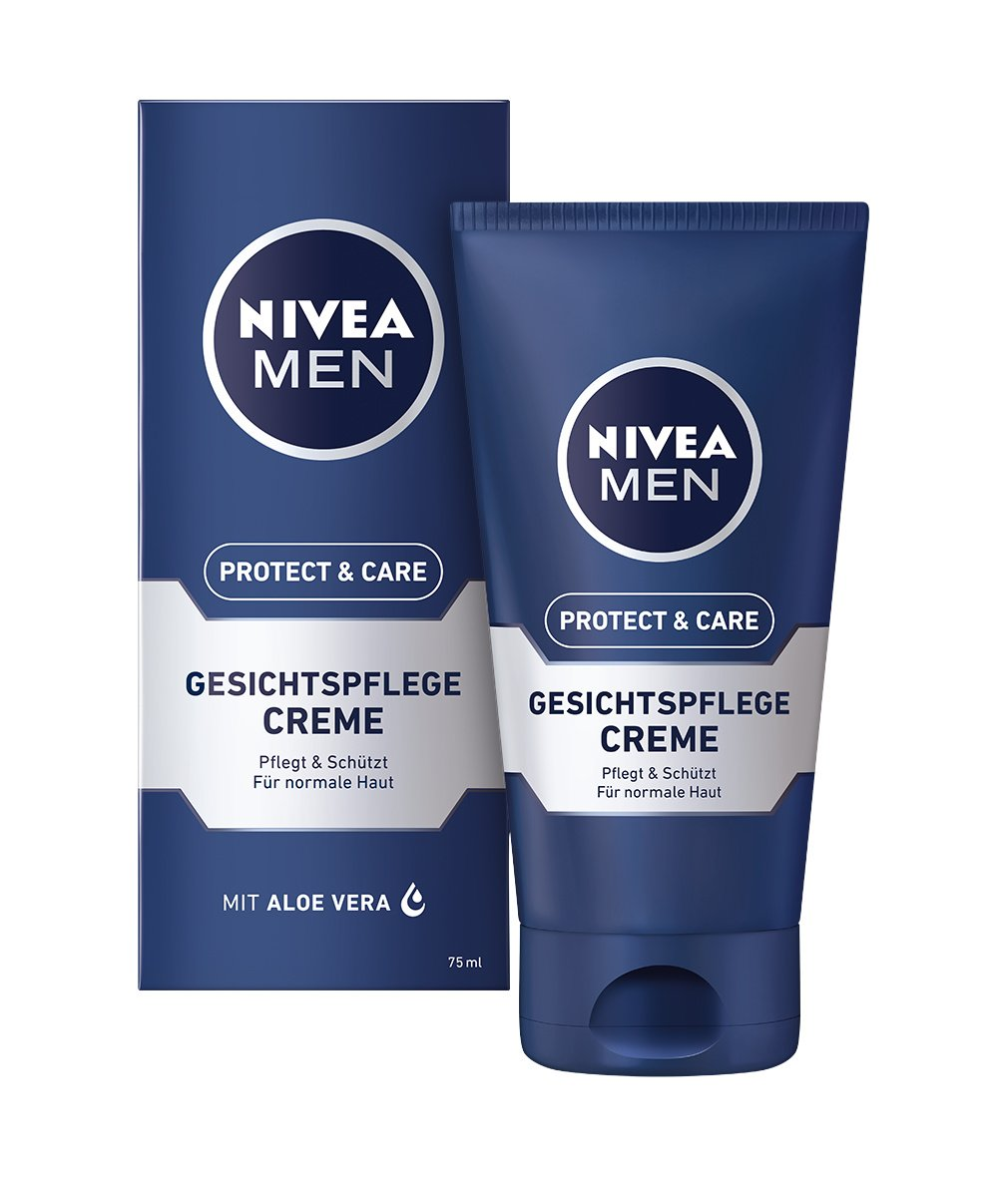 nivea men protect care gesichtspflege creme 1er pack 1. Black Bedroom Furniture Sets. Home Design Ideas