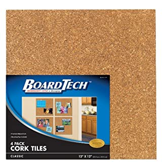 Cra-Z-Art Classic Cork Tiles, 12x12 Inches, Pack of 4 (12121) (B002M78G0K) | Amazon price tracker / tracking, Amazon price history charts, Amazon price watches, Amazon price drop alerts