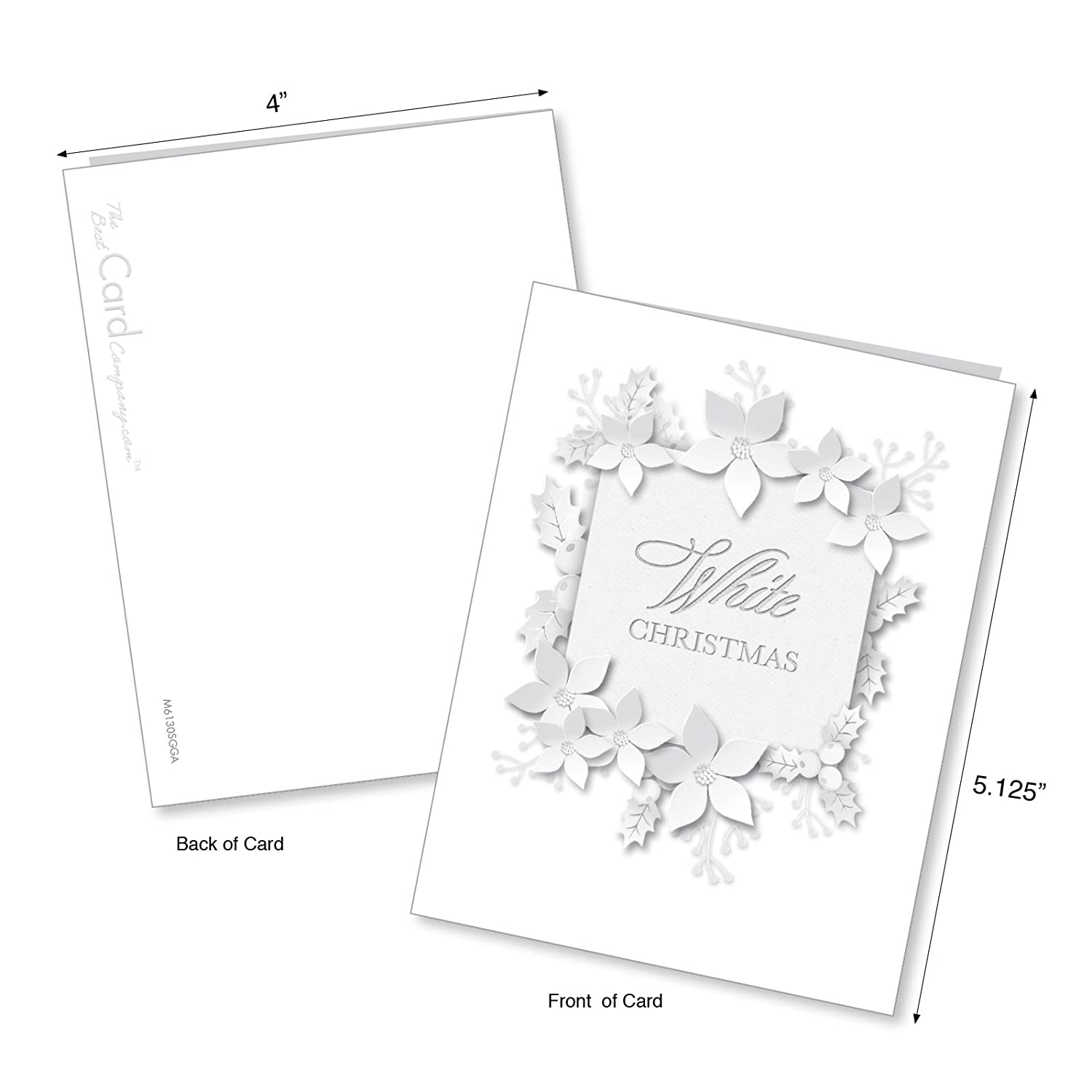 amazon am6130sgg b1x10 winter white assorted seasons Lime Green amazon am6130sgg b1x10 winter white assorted seasons greetings note cards featuring the white christmas everyone always asks for with envelopes