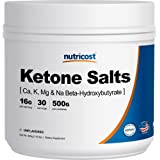 Nutricost 4-in-1 Exogenous Ketone Supplement (17.86oz) 13g Beta-Hydroxybutyrate (BHB) Per Serving, 500 Grams (Unflavored)