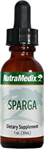 NutraMedix Sparga Drops - Bioavailable Liquid Asparagus Extract Tincture for Detox & Cleansing Support, Herbal Asparagus Supplement (1oz / 30ml)