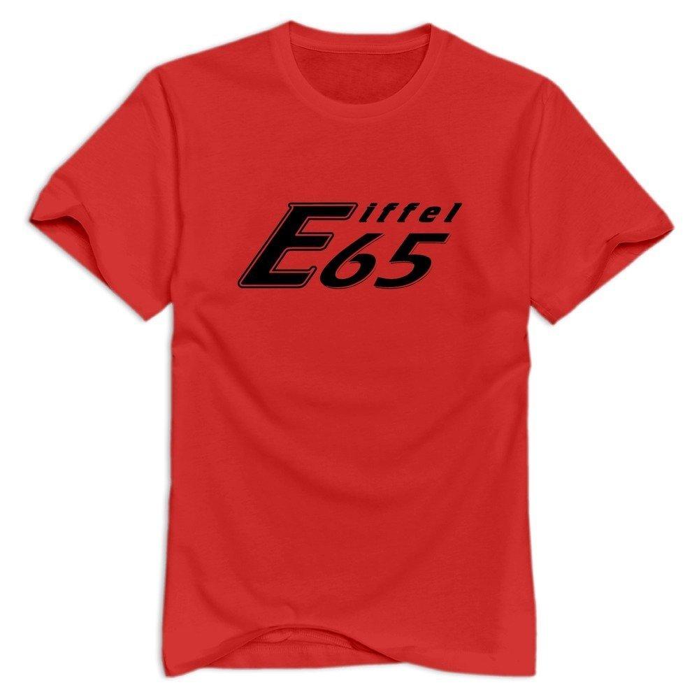Amazon com: WYBU Men's Eiffel 65 T-Shirt Red US Size M,100% Organic