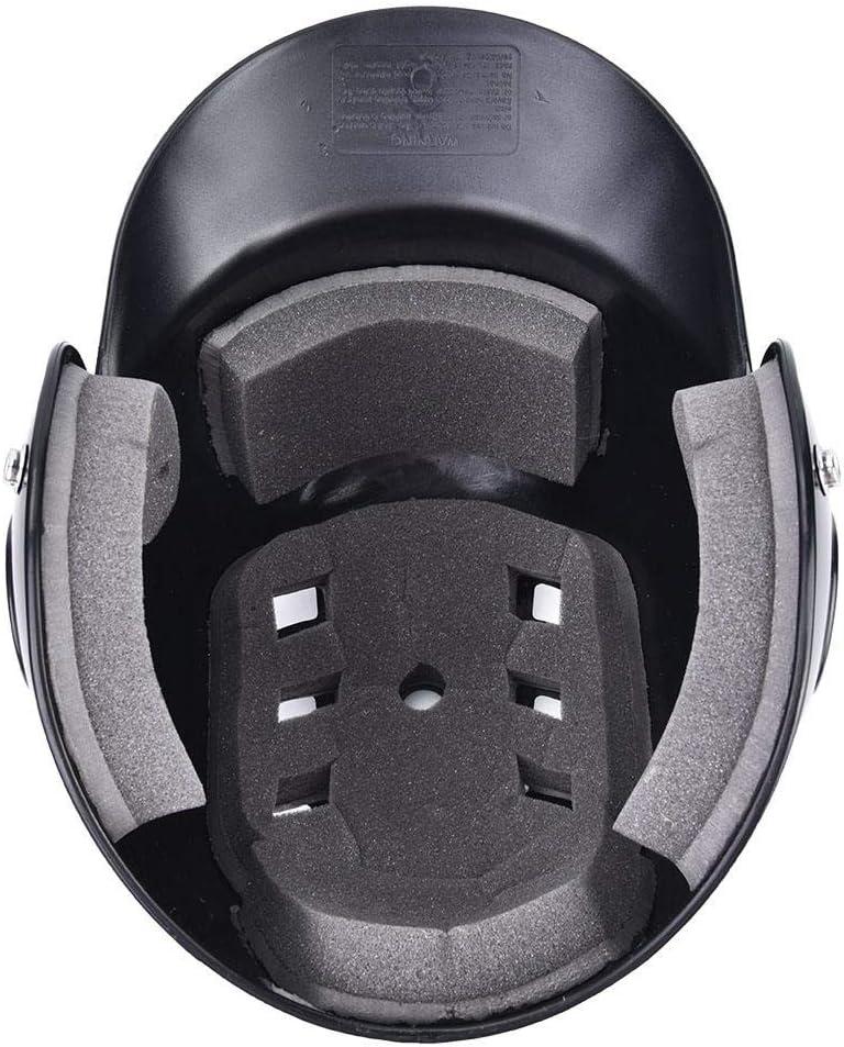 Face Ouverte Protection du Casque De S/écurit/é R/ésistance Aux Chocs Baseball Au B/âton Vbestlife Casque Sportif