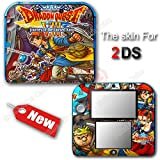 Dragon Quest VIII Journey of the Cursed King Skin Vinyl Sticker Cover for 2DS