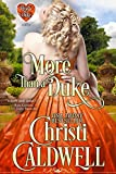 Bargain eBook - More Than a Duke