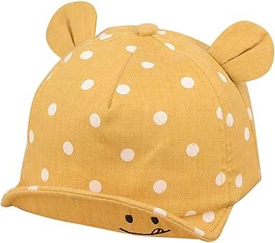 PinkLu Sombrero Playa Sombrero Bebe niña niño Sombrero Infantil ...