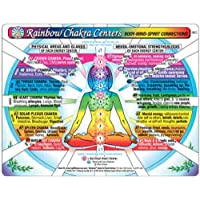 CHAKRA Centers Chart, Rainbow: Body-Mind-Spirit Connections, by Inner Light Resources