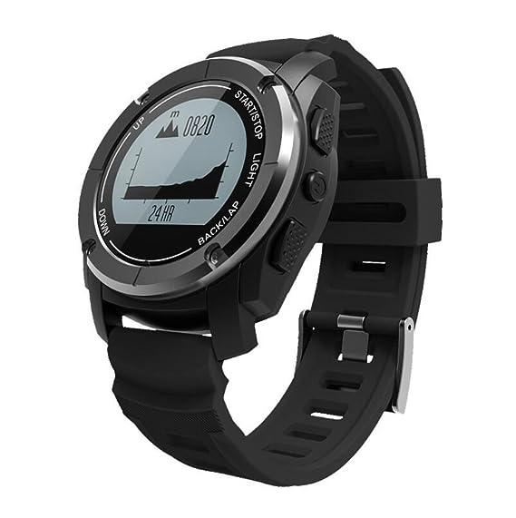 Reloj Elegante Bluetooth al Aire Libre Relojes Inteligentes Posición Profesional del GPS Carrera de montaña Jogging
