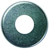 L.H. Dottie FW8 Flat Washer, 3/16-Inch Inner Diameter by .4375-Inch Outer Diameter by 3/64-Inch Thickness, No.8 Bolt, Zinc Plated, 100-Pack