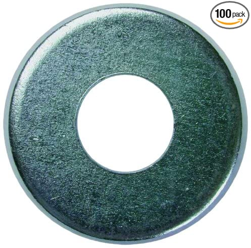 L.H 100-Pack 3//16-Inch Inner Diameter by .4375-Inch Outer Diameter by 3//64-Inch Thickness Dottie FWBR8 Flat Washer No.8 Bolt