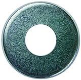 L.H. Dottie FWBZ8 Flat Washer, 3/16-Inch Inner Diameter by .4375-Inch Outer Diameter by 3/64-Inch Thickness, No.8 Bolt, 100-Pack