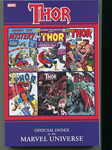 Thor Official Index To Marvel Universe New Trade Paperback TPB Graphic Novel