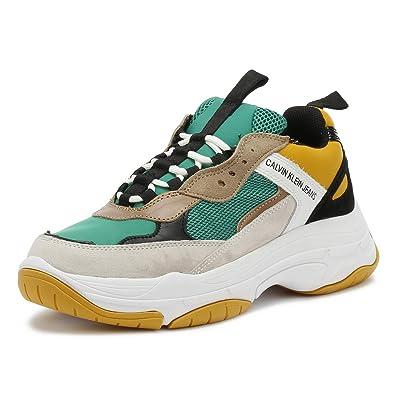 Calvin Klein Jeans Mel Sneaker Low Herren Schwarz Schuhe