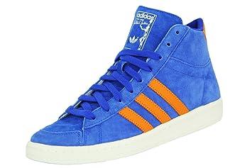 adidas Jabbar Mid Chaussures Mode Sneakers Homme Bleu Orange