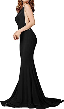 Mermaid Prom Dresses Long Sexy Backless