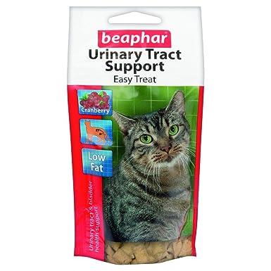 Beaphar - Snacks beneficiosos para el tracto urinario y la cistitis para gatos (Talla Única