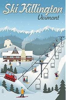 Amazon.com: Killington Poster, Killington Ski Resort Poster ... on stowe ski map, lutsen mountains ski map, north carolina ski map, marmot basin ski map, breckenridge ski map, cannon mountain ski map, okemo ski map, pico ski map, wild mountain ski map, connecticut ski map, mount snow ski map, mount kato ski map, bradford ski map, shawnee peak ski map, bretton woods ski map, greek peak ski map, diamond peak ski map, snowshoe mountain ski map, 49 degrees north ski map, tyrol basin ski map,