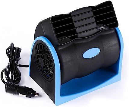 Ventilador Automático de 12V, Mini Ventilador de Refrigeración, Aire Acondicionado Portátil para el Carro del Coche, Ventilador Silencioso para Autos, Velocidad Ajustable, Ideal para Niños Pequeños y: Amazon.es: Electrónica