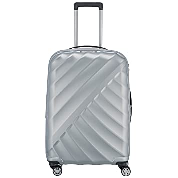 Valise rigide Titan Shooting Star 77 cm Silver gris