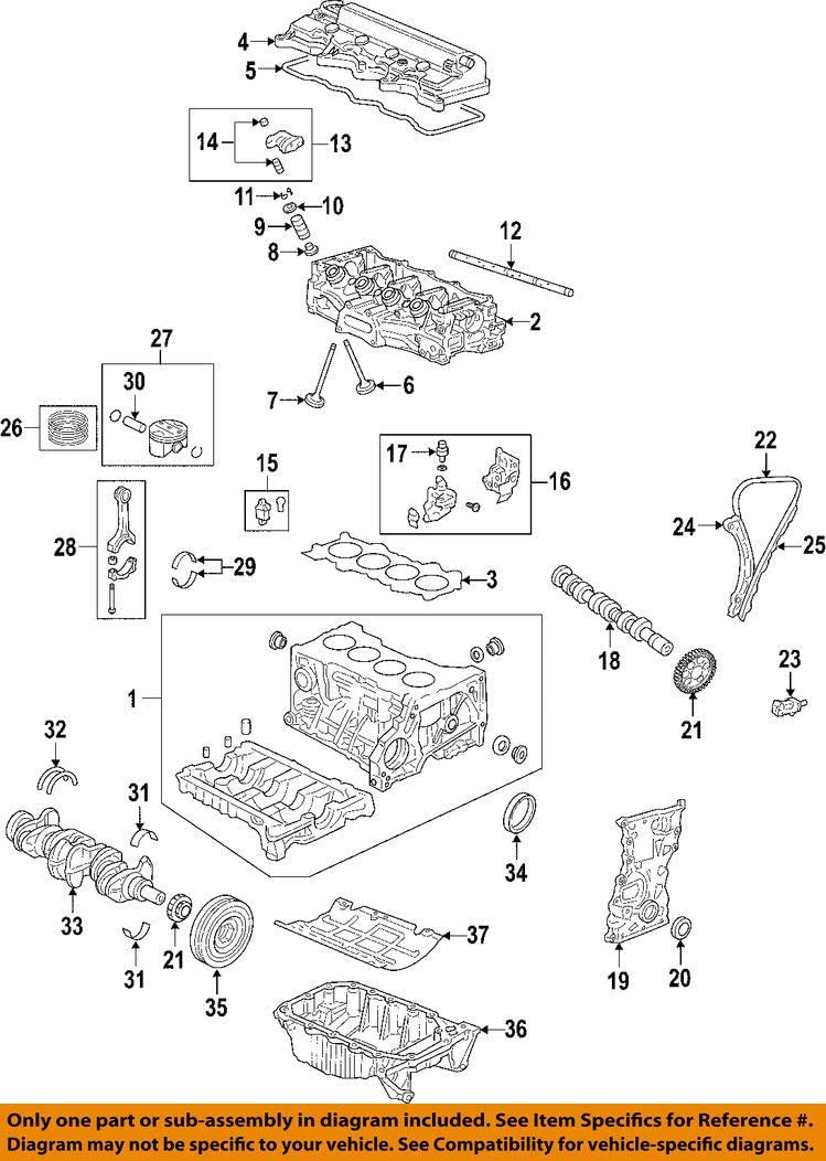 Engine Crankshaft Seal Honda 91212-R1B-A01