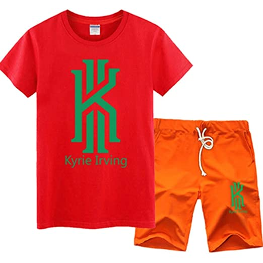 YQCSLS Camiseta NBA Jersey Set Boston Celtics Kyrie Irving ...