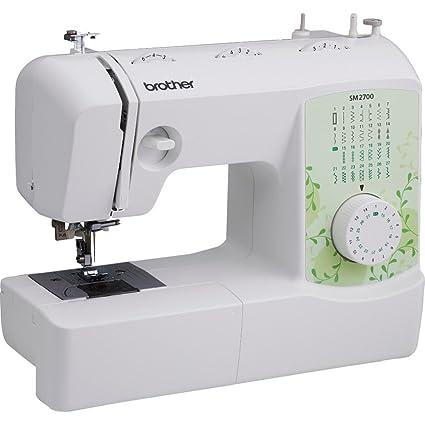 Brother máquina de coser de costura de punto de sm2700 27
