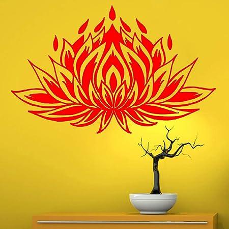 guijiumai Dctal Yoga Club Sticke Lotus Decal Poster Vinyl ...