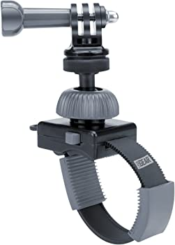 Zip-Tie Style GoPro Action Camera Mount by USA Gear with Tripod Screw and Adapter & Rotating Head - Works With HERO6 Black , HERO5 Black/Session , YI 4K , Drift Ghost 4K , AKASO EK7000 and More