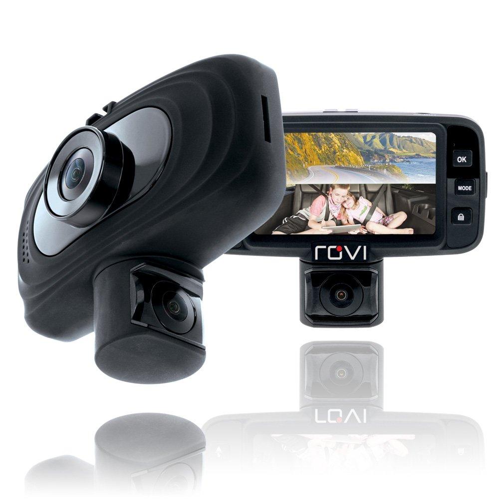 Rovi CL-3017 Dual View Dash Cam