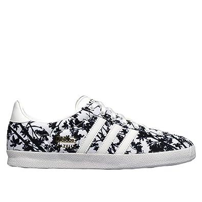 adidas Gazelle OG W White Black Floral Print - 4 UK