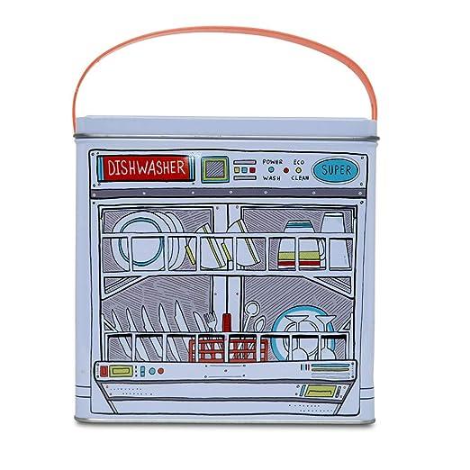 D-Mail - Recipiente de Lata para detergente en Polvo para ...