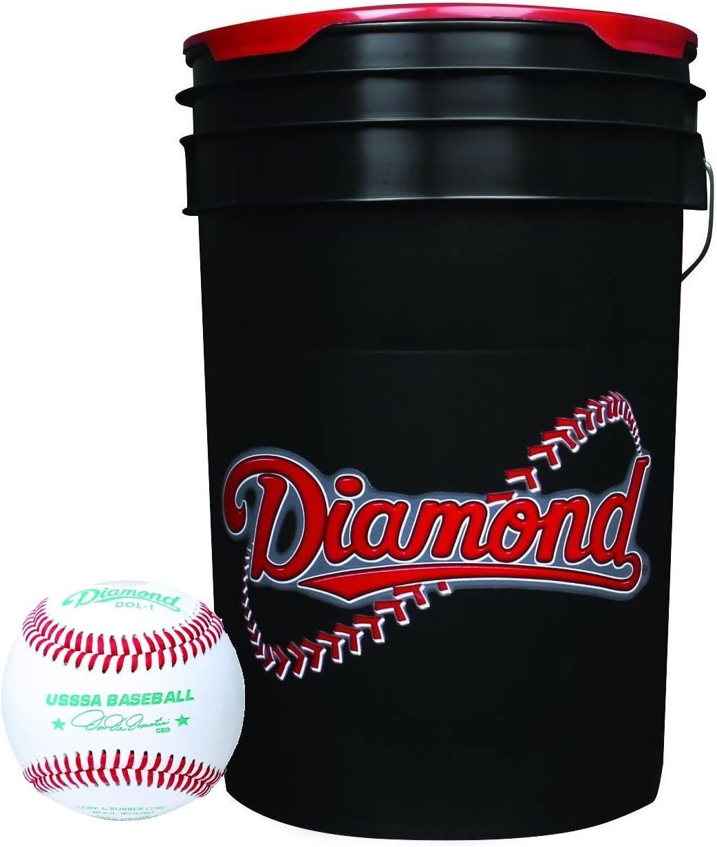 3 Dozen Diamond Sports Rods Sports DOL-1 OL Official League Baseballs