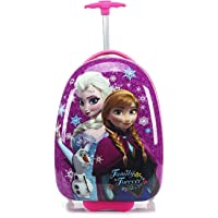 """16"""" McQueen Elsa Anna Barbies Micky Mouse Minnie Minion Spiderman Children Kids Holiday Travel Character Suitcase Luggage Trolley Bags"""