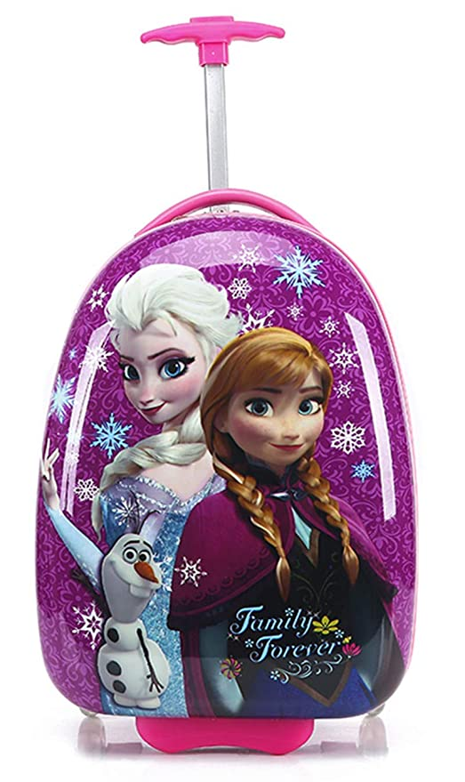 genetic - Equipaje Infantil Naranja Anna&Elsa 16 Pulgadas