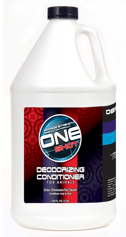 Best Shot Pet One Shot Deodorizing Conditioner, 1 Gallon by Best Shot Pet